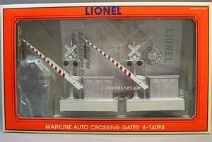 Lionel Mainline Auto Crossing Gates Train Intersection O Gauge Sign Road 6
