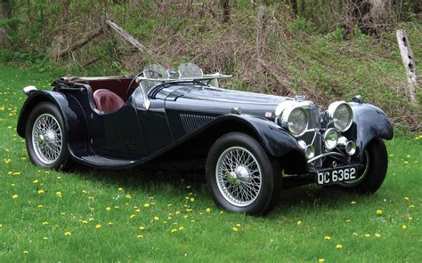 1 1935 Jaguar Ss100 HD Wallpapers | Background Images ...