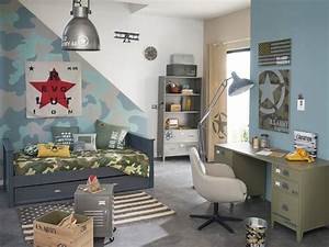 superbe idee deco chambre ado garcon 1 davaus idee With idee peinture chambre ado