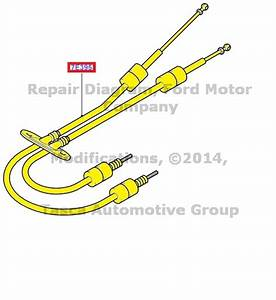 New Oem 6 Speed Manual Transmission Shift Control Cable