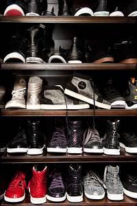 Mens Shoe Closet - Contemporary - closet - The Coveteur
