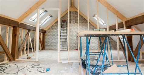 maison et travaux chambre installer l électricité dans les combles