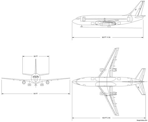 boeing 737 plan sieges boeing 737 200 plans aerofred free model