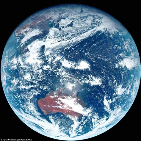 Japanese Weather Satellite Captures What Earth Really