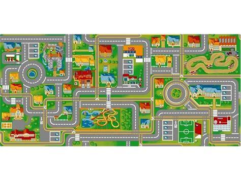 tapis de jeu circuit de voitures 140x200cm onlinemattenshop be