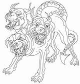Coloring Pages Greek Mythology Mythical Creatures Cerberus Norse Drawing Printable Myth Monsters Cool Animals Print Clipart Getcolorings Getdrawings Wut Source sketch template