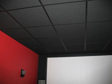Gray Drop Ceiling Tiles by 10 Black Acoustical Ceiling Tiles 48 Quot X 24 Quot X 1 Quot Sound