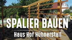 Rankgitter Holz Selber Bauen : rankhilfe selber bauen spalier aus holz youtube ~ A.2002-acura-tl-radio.info Haus und Dekorationen