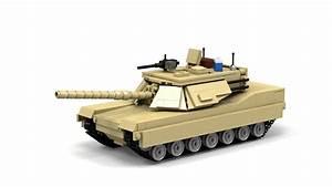 Lego M1a1 Abrams  Instructions