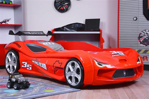 Maserati Turismo Sport Race Car Bed  Red  Car Bed Shop