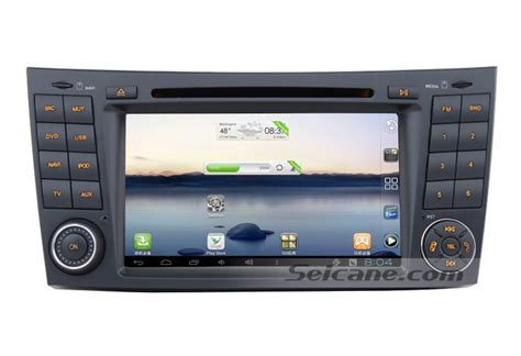 android class android 7 inch car dvd player for mercedes e class
