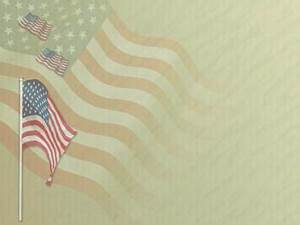 American Flag Ppt Background American Flag Day 04 Powerpoint Template