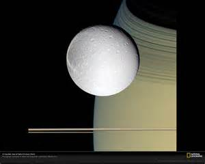 National Geographic Saturn Moon
