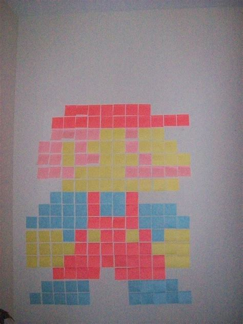 super mario brothers post  notes  piece  post