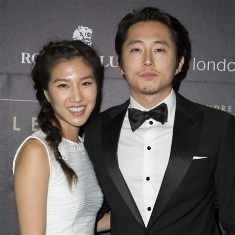 "Steven Yeun of ""The Walking Dead"" Marries Joana Pak"