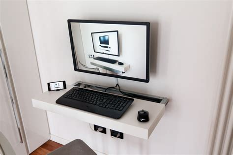 Ikea Floating Desk Shelf by Mini Pc Float And Slide Desk Ikea Hackers Ikea Hackers