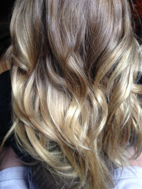 Brown and Blonde Ombre Hair Pinterest