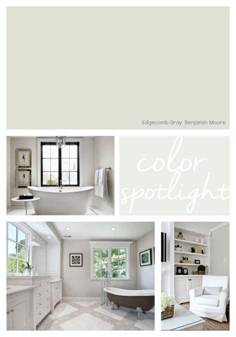 benjamin moore edgecomb gray color spotlight paint it