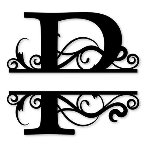 4 letter monogram decal monogram sticker personalized monogram letter die cut vinyl decal pv1320 44525