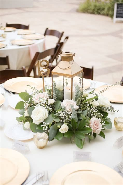 Rustic Nautical Outdoor Wedding Reception Round Table