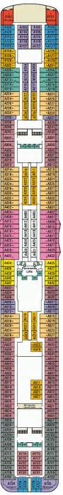 Regal Princess Deck Plan Aloha by Royal Princess Deck Plans