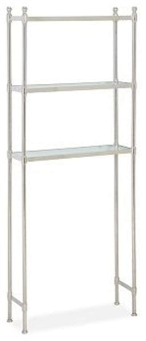 Metal The Toilet Etagere by Metal The Toilet Etagere Polished Nickel Finish