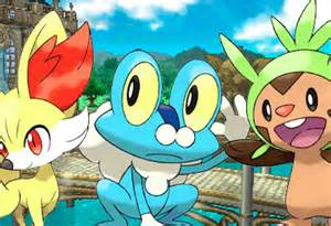 pokemon x and y gym leaders badges teased early