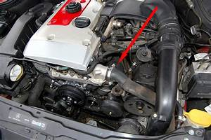 Oil Filter Location  2002 C230k Coupe