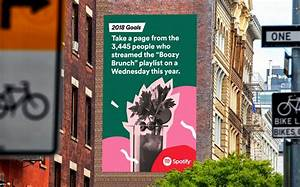 Spotify: 2018 Goals   Creative Works   The Drum