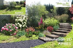 Comment Faire Des Marches Dans Un Talus : cr er un escalier de jardin monjardin ~ Melissatoandfro.com Idées de Décoration