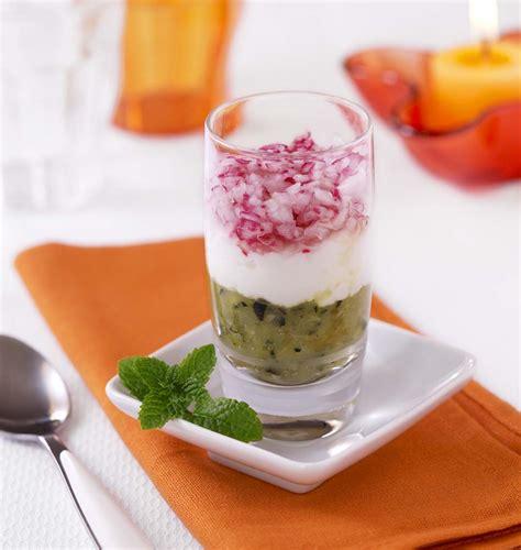 cuisine de a à z verrines verrines courgette chèvre frais radis les meilleures