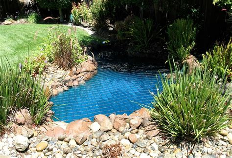 pond safety net protect a pond by katchakid