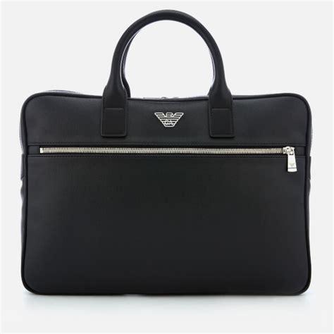 Armani Exchange Briefcase by Emporio Armani S Briefcase Black Mens Accessories