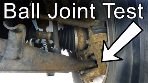 check  ball joint youtube