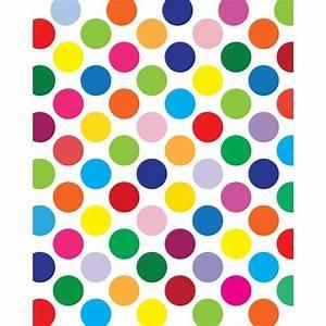 Rainbow Polka Dot Wallpaper - Cliparts.co