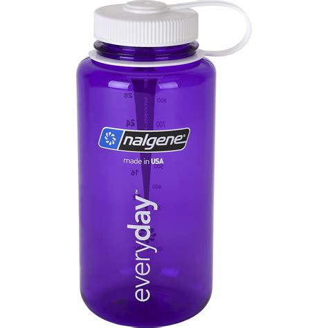Nalgene Tritan 32oz Plastic Water Bottle Purple W/white