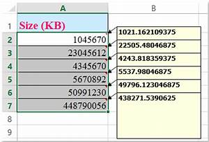 How To Convert Between Kb And Mb Gb Tb And Vice Versa
