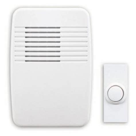 home depot door bells heath zenith wireless in door chime kit dl 7366 02