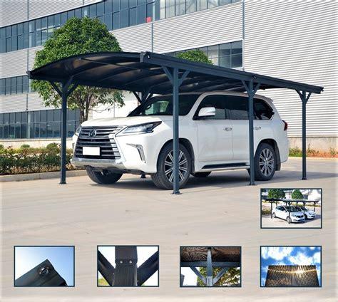 tettoia in alluminio carport tettoia per automobili in alluminio cm 505x300cm