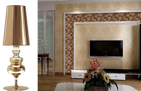 gold stainless steel wall tile  porcelain base metal