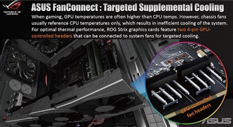 gtx 1080 single fan asus announces rog strix geforce gtx 1080
