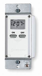 Intermatic 120vac Electronic Wall Switch Timer  Max  On
