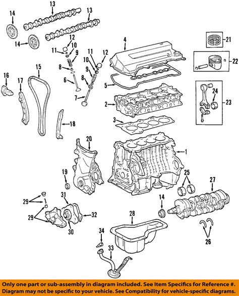2005 Avalon 3 5l Engine Diagram by Toyota Oem 98 08 Corolla Engine Timing Camshaft Gear
