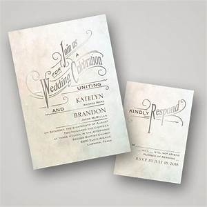 Hot trend foil stamped wedding stationery from for Foil stamped wedding invitations cheap