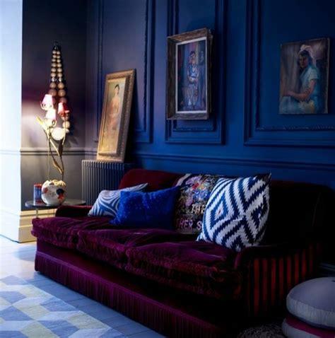 recettes canap駸 originaux couleur indigo magnetique deco interieur accueil design et mobilier
