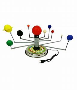 Nsaw Solar System with 9 Plants Motorized: Buy Online at ...