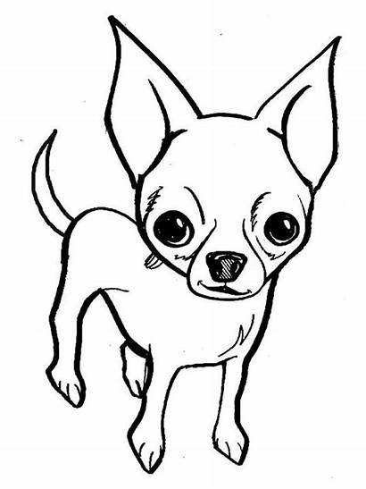 Coloring Chihuahua Adults Gaddynippercrayons Dog Printable Breed