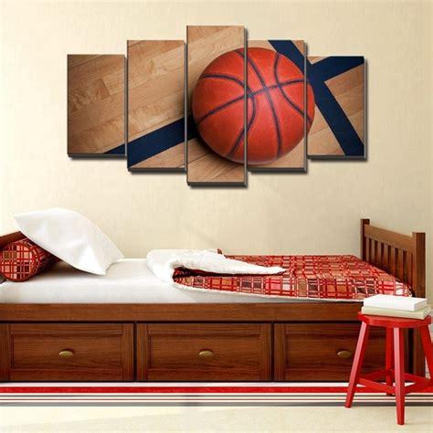 Basketball Bedroom Decor by Basketball Sports Canvas Wall For Boys Bedroom Decor