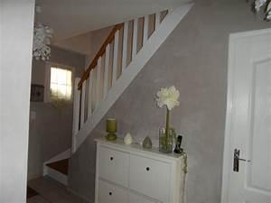 Escalier bois et blanc mzaolcom for Peindre un escalier en gris 2 escalier deco peint en blanc marches et rambarde en bois
