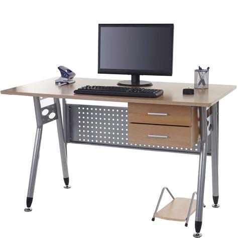 rehausseur ordinateur bureau mesa para ordenador caribe en metal con cajones y soporte